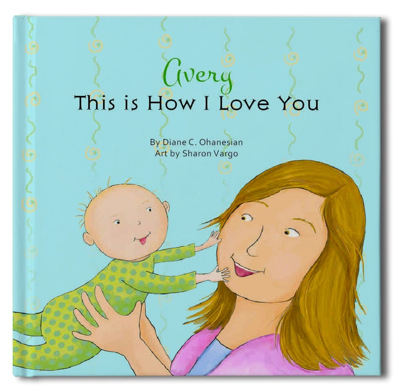 This is how I love you book  Personalized book  Birthday image 0