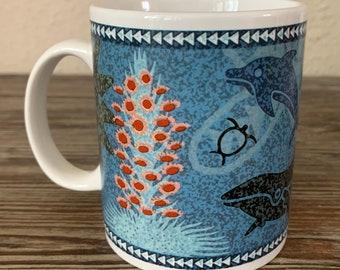 Qty: 2 Island Heritage Chant of Aloha Korean Himani Mugs