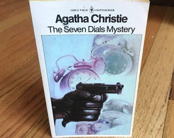 The Seven Dials Mystery — Agatha Christie, Tom Adams cover