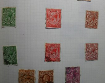 Very good quality stamp collection - over 350 stamps in album