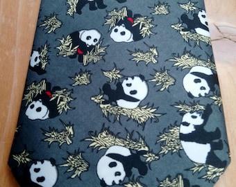 vintage Pandas gents silk tie - really nice condition