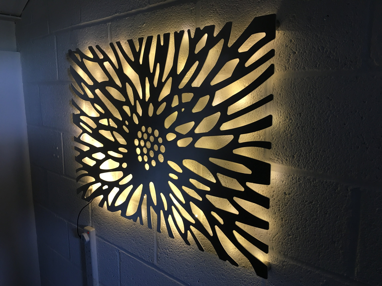 Benbecula : Laser Cut Decorative Metal Wall Art Panel ...