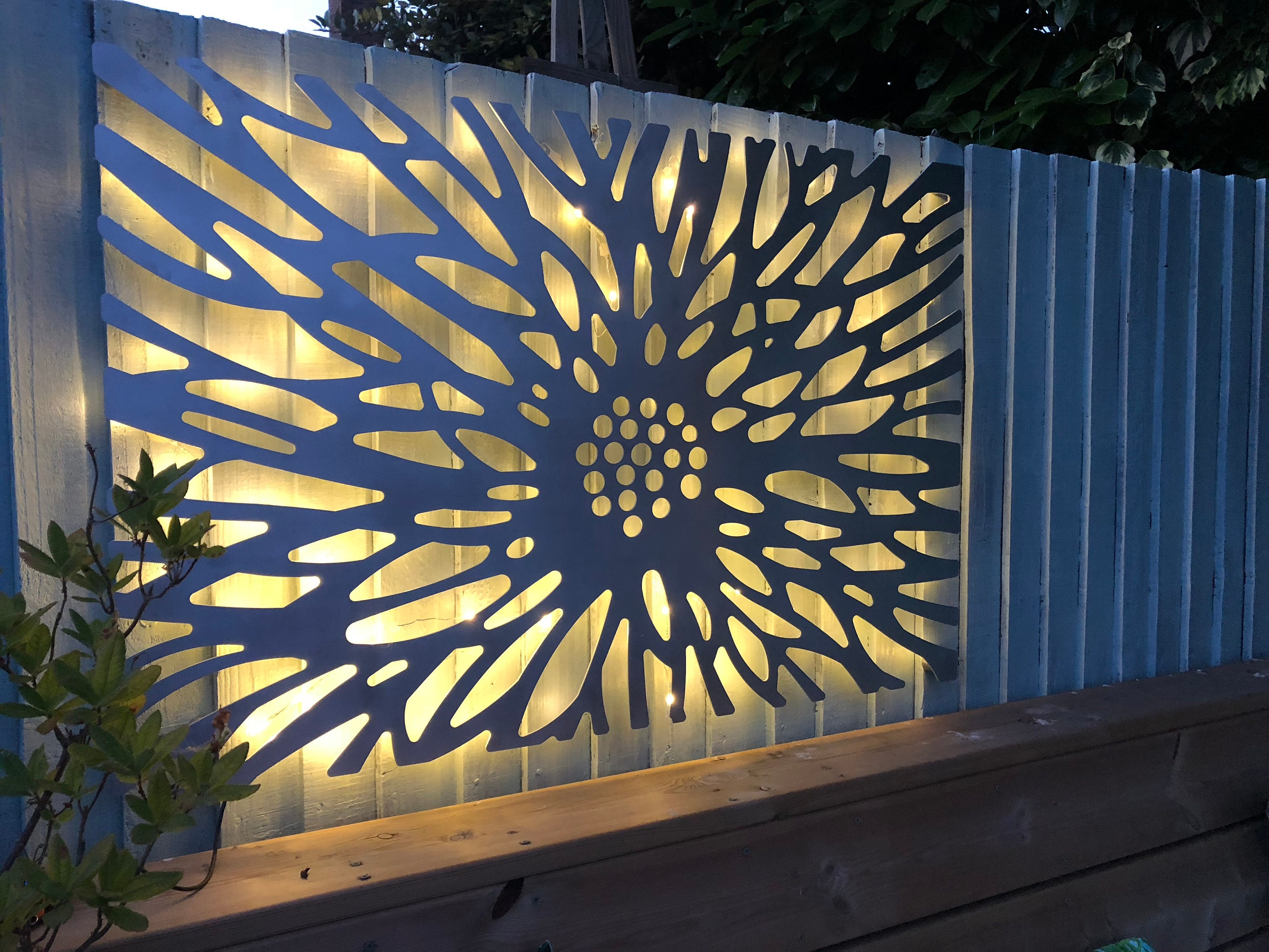 Laser Cut Decorative Metal Wall Art Panel Sculpture for with