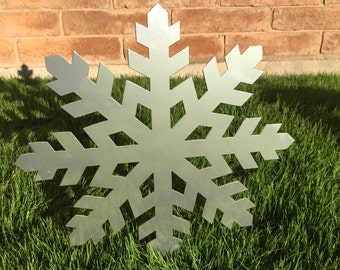 Snowflake - 06 - Christmas Decor, Metal Yard Ornaments, Christmas, Lawn Decoration, Outdoor Christmas Decor