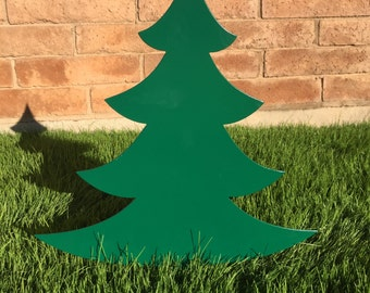 Christmas Tree - 04 - Metal Yard Art, Christmas, Lawn Decoration, Outdoor Christmas Decoration