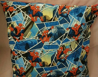 Spiderman cushion cover