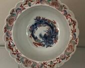 A chinese porcelain Dragon bowl 18th c Chinese kakiemon porcelain