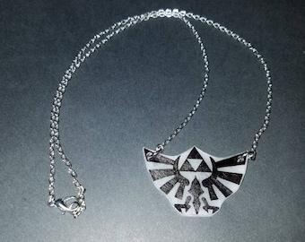 Zelda Triforce Necklace
