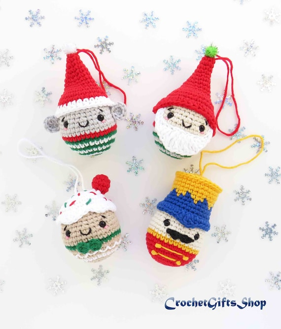 INSTANT DOWNLOAD Holiday Ornament Collection