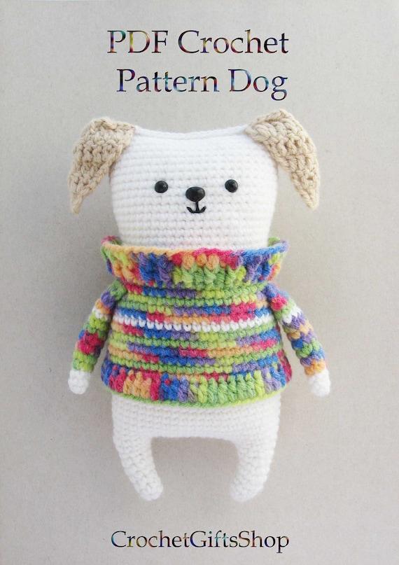 11 Amigurumi Dog Crochet Patterns – Cute Puppies - A More Crafty Life | 807x570