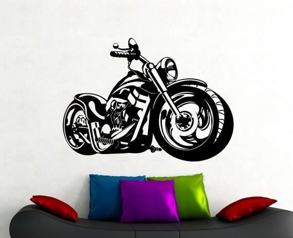Fahrrad Wand Aufkleber Motorrad Aufkleber Home Interior Design Zimmer Wand Dekoration Jungen Zimmer Wandkunst Wandbilder Wasserdicht Aufkleber 8mtz