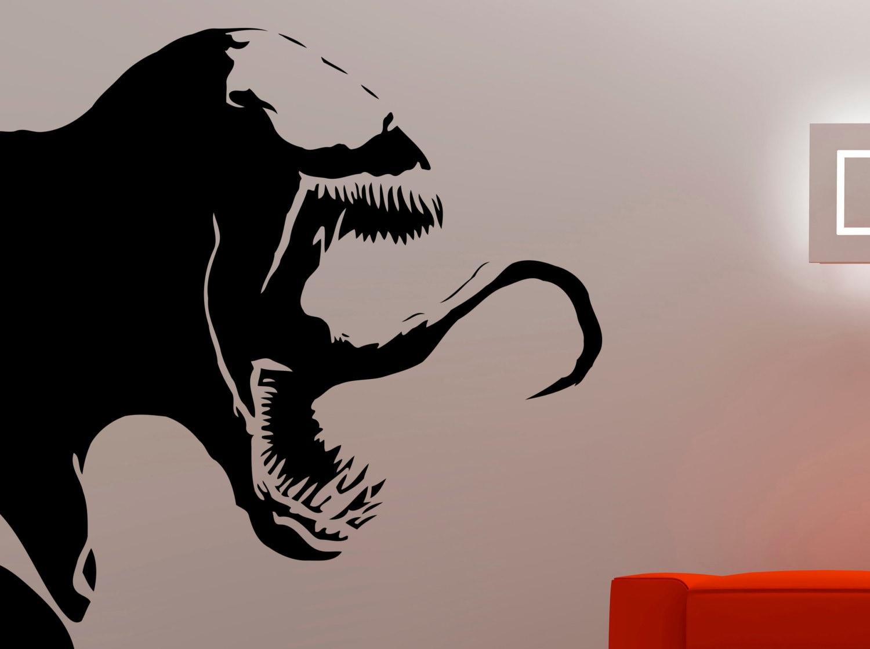 Venom wall decal spiderman stickers marvel comics wall art vinyl art decoration home vinyl kids room decor waterproof decal 9vzz