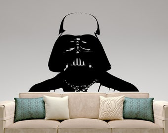 Star Wars Wall Decal Darth Vader Sticker Super Hero Vinyl Decal Home Interior Wall Art Mural Window Decal Removable Sticker 3ewsx
