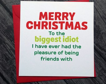 funny christmas cards merry christmas cut offensive rude alternative dirty banter cheeky for friend boyfriend husband xm4