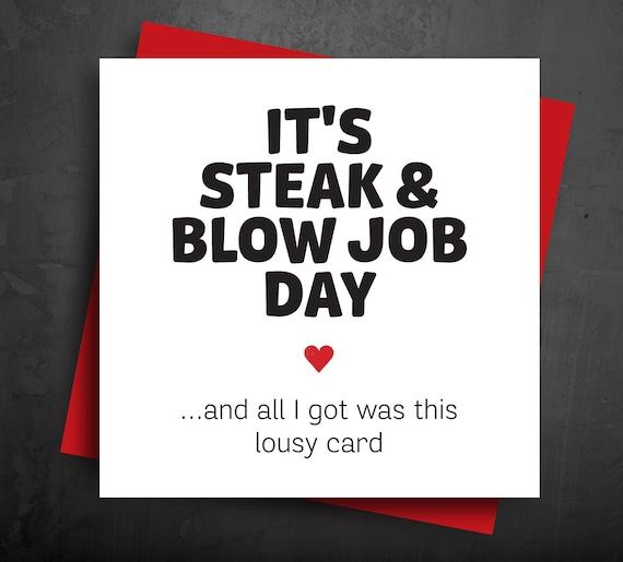 steak n blow job day