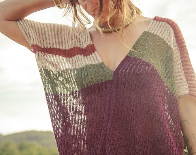 Bohemian Linen dress | Boho dress | Ibiza dress | Natural dress | summer kaftan | Summer dress | burning man clothing, dresses for women