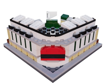 Mini Chicago Cubs Wrigley Field Custom Set / Chicago Cubs Gifts / Cubs Christmas Gift