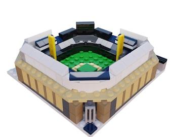 Mini New York Yankees Yankee Stadium Custom Set / New York Yankees Gift / Yankees Christmas Gift