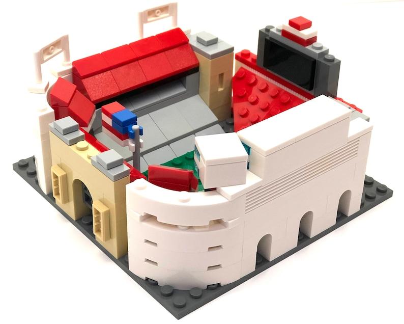 205b19352f2 Mini Ohio State Ohio Stadium Custom Set   100% LEGO   Gifts