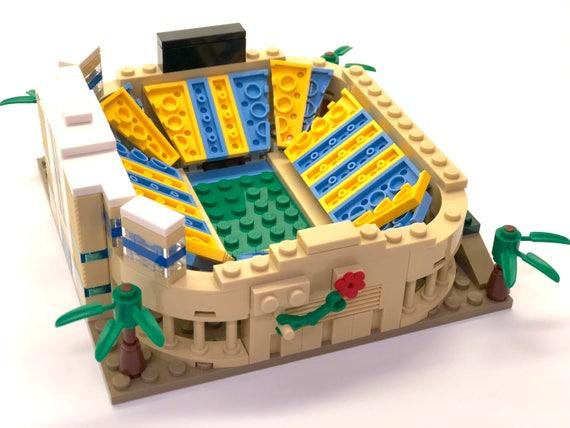 Mini Rose Bowl Stadium Ucla Custom Brick Set With Printed Etsy