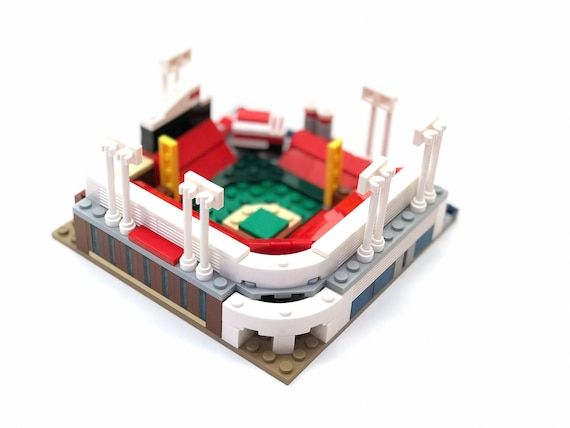 Mini Cincinnati Reds Great American Ball Park Custom Brick Set Etsy