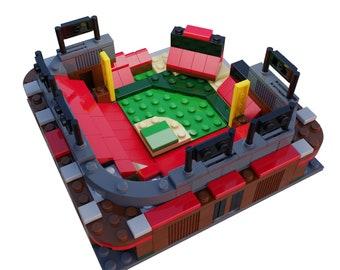 Mini St Louis Cardinals Busch Stadium Custom Set / St Louis Cardinals Gift / Cardinals Christmas Gift