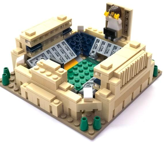 Mini Notre Dame Stadium Custom Brick Set With Printed Etsy