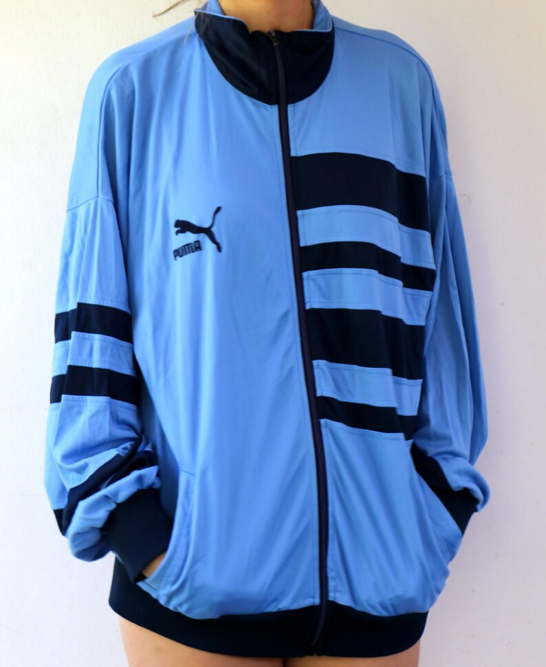 9ac99c27038e PUMA jacket vintage 80 s PUMA Warm Up Jacket track sport