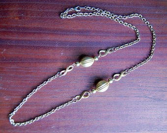Long Goldtone Chain