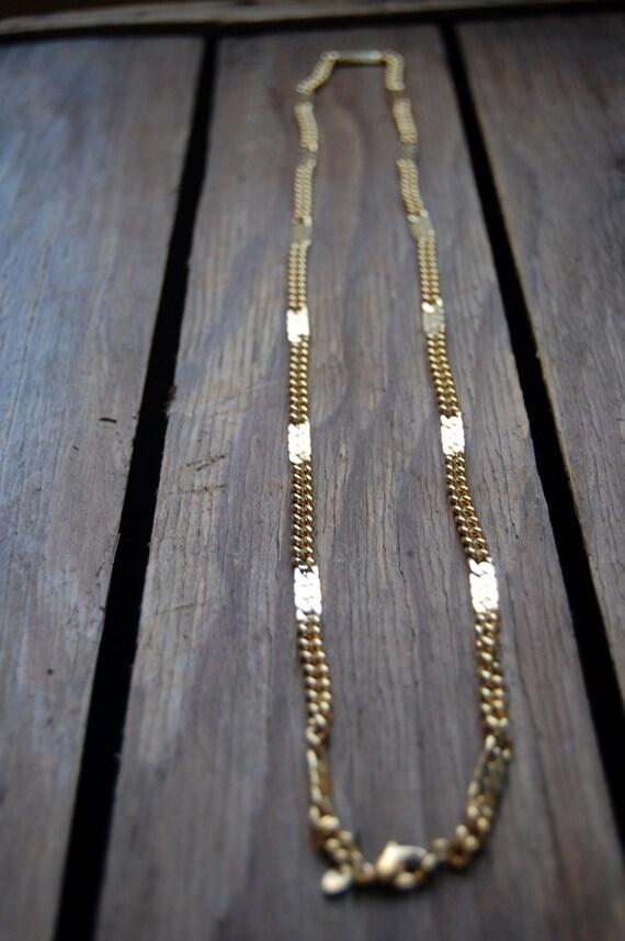 Monet Goldtone Chain Necklace