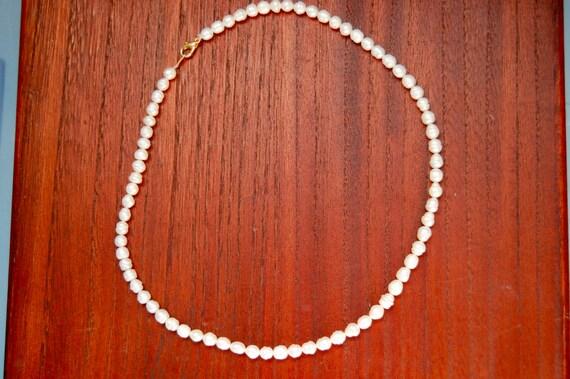 Vintage River Pearl Necklace