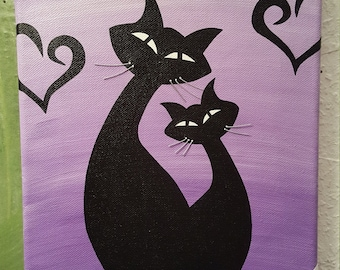 Painting LOVECATS