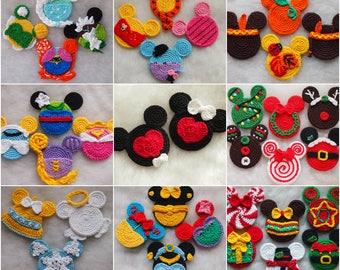 a7366dbd83fda Mickey Minnie Mouse crochet pattern