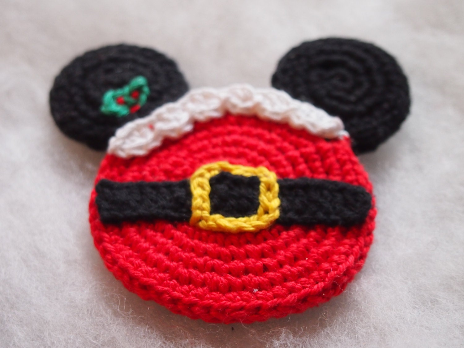 Christmas Ornament Mickey Mouse Minnie Mouse Crochet Pattern Etsy
