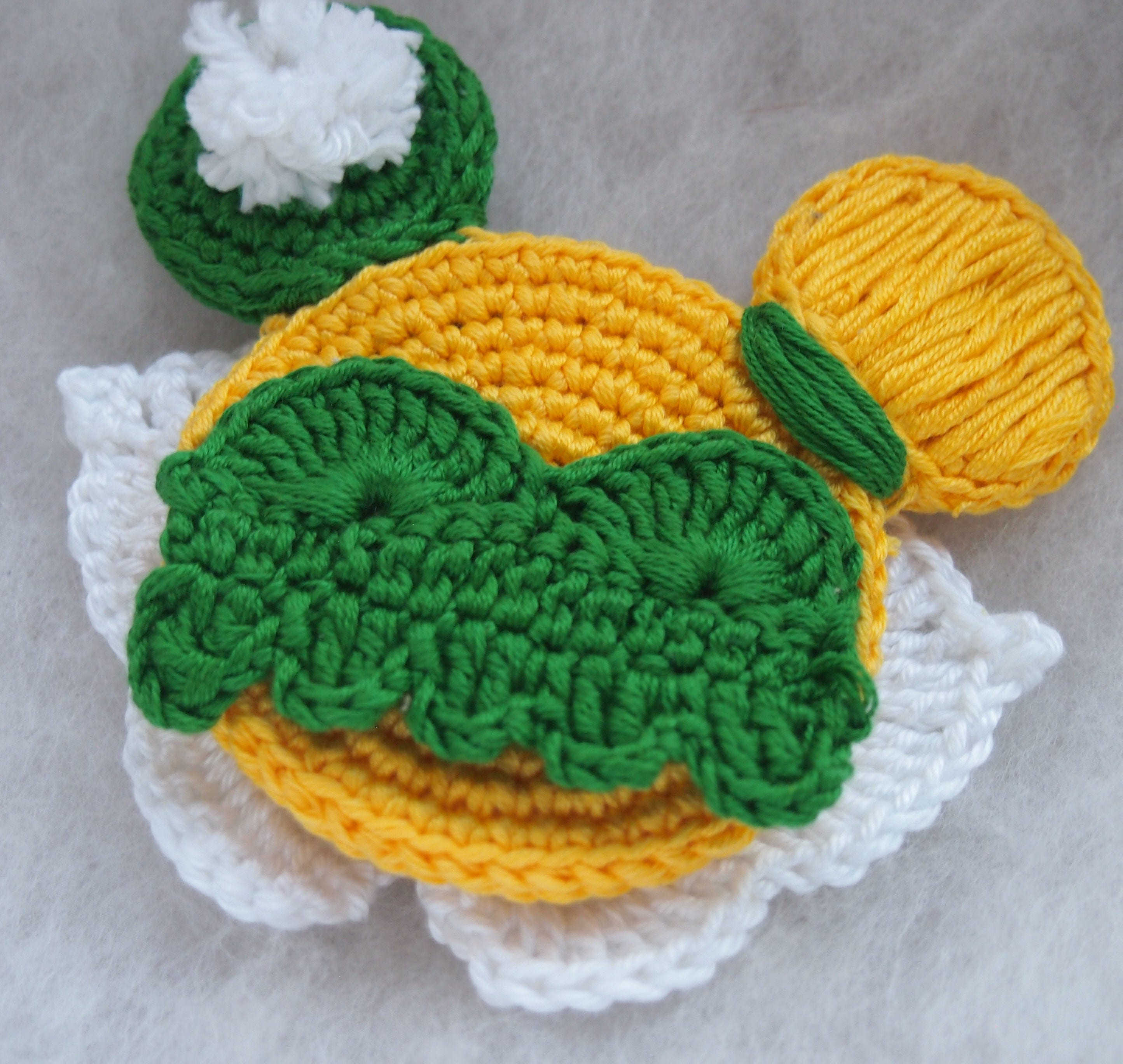 Disney Princess Tinkerbell Minnie Mouse Ears Crochet Pattern Etsy
