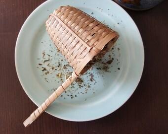 Bamboo Loose Leaf Teas Strainer