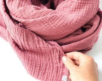 Quintessential ladies 100/% Pure Silk large luxury Scarf In Secret Garden Pink