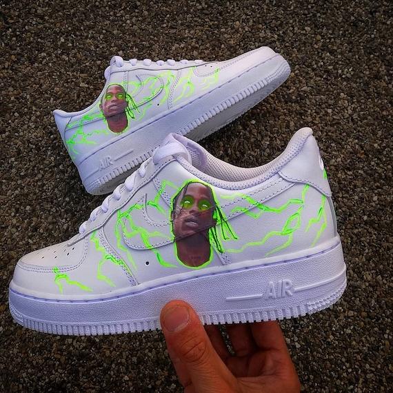 Travis Scott Custom Nike Air force 1