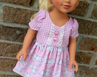 18 Inch Doll Clothes, Spring, or Easter Dress