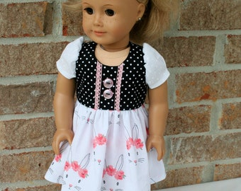 18 Inch Doll Clothes, Spring or Easter Dress