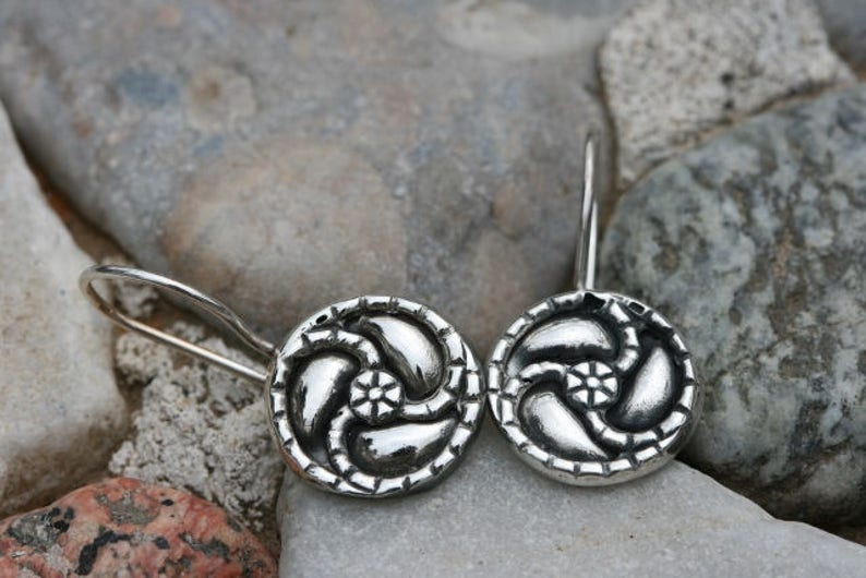Silver Earrings Silver Ring Matching Jewelry Silver Jewelry Israeli Designer,Everyday Wear Earrings Set of Sterling Ring and Earrings