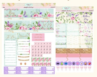 Planner Stickers Monthly View Kit May 2019