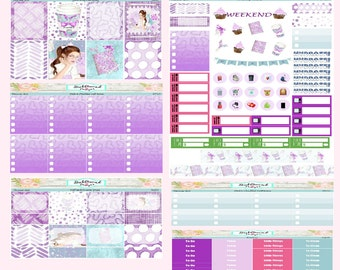 Planner Stickers Weekly Kit Planner Girl