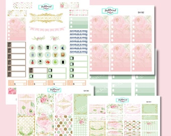 Planner Stickers Weekly Kit Gilded Petal