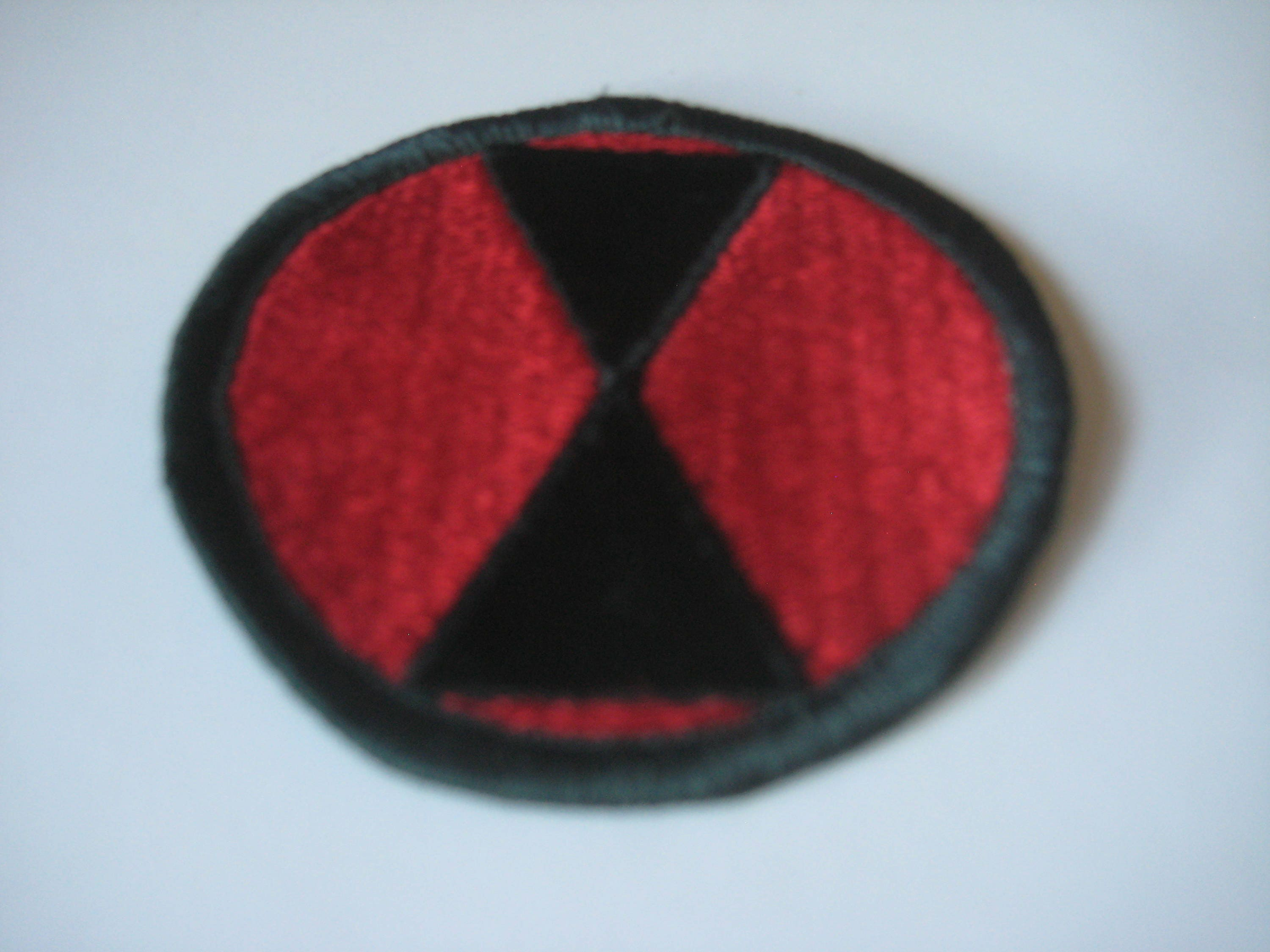 7th Infantry Division Patch. 757f32f6f3a