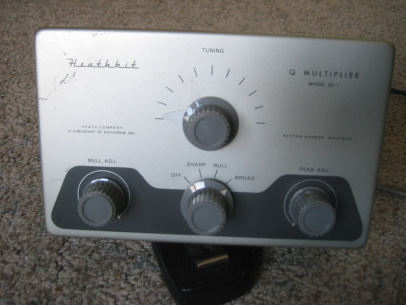 Heathkit Model QF-1 Q Mulitplier.
