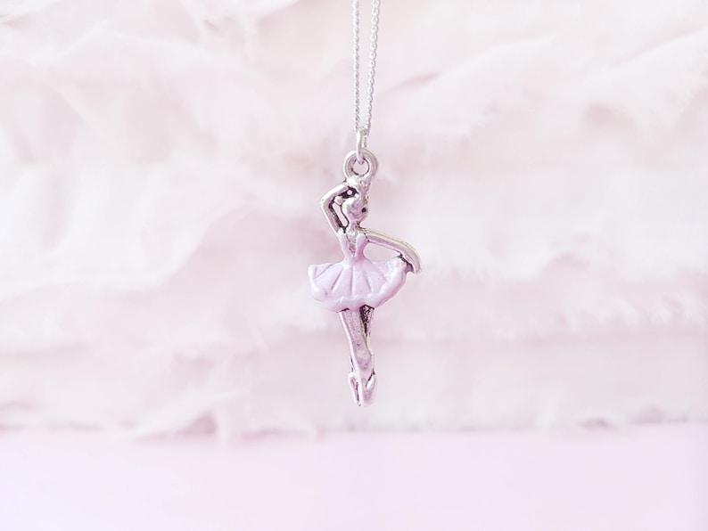e292c83ec7 Collana Ballo Collana Danza Collana Ballerina Rosa | Etsy