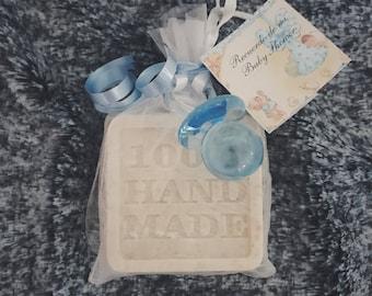 Baby Shower Favor- Handmade Soap Favors