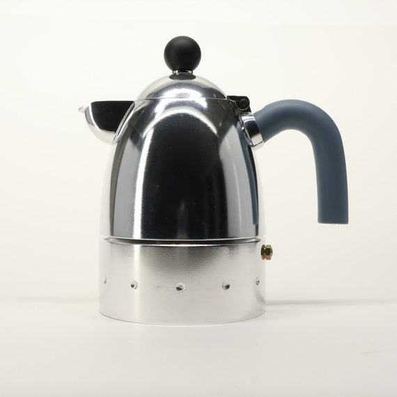 Alessi Espresso Coffee Maker Pelicano 6 Cups Michael Etsy