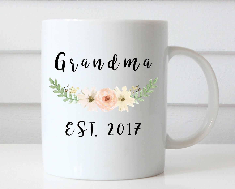Großeltern Tassen Schwangerschaft enthüllen Großeltern | Etsy